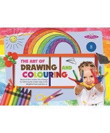 Drawing And Colouring Book 8 - English
