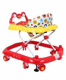 EZ' Playmates Musical Deluxe Walker - Red