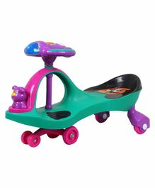 EZ' Playmates Magic Twister Car Aero Shape - Green