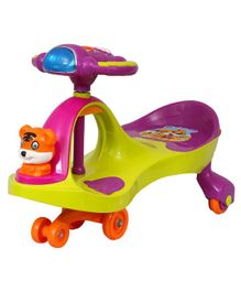 EZ' Playmates Happy Tiger Magic Car - Green Purple