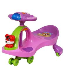 EZ' Playmates Happy Tiger Magic Car - Pink Purple