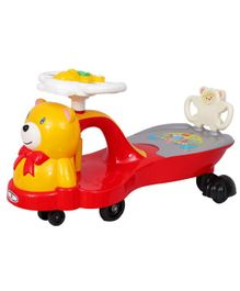 HLX-NMC Teddy Twister Magic Car - Red