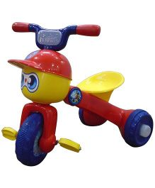 EZ Playmates Funky Folding Tricycle - Red Yellow