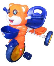 HLX-NMC Happy Tiger Kids Tricycle - Blue Orange