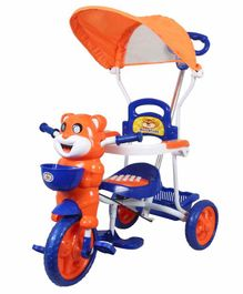 HLX-NMC Happy Tiger Kids Rocking Tricycle - Blue Orange