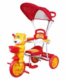 HLX-NMC Happy Tiger Kids Rocking Tricycle - Red Yellow