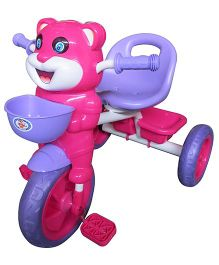 HLX-NMC Happy Tiger Kids Tricycle - Purple Pink