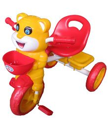 HLX-NMC Happy Tiger Kids Tricycle - Red Yellow