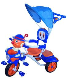EZ Playmates Joker Face Tricycle - Blue Orange