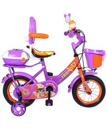 HLX NMC Bicycle 12 Bowtie - Purple Orange