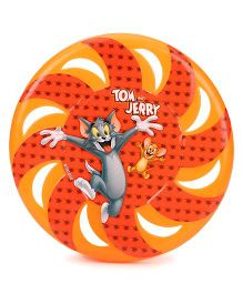 Tom and Jerry Printed Flying Disc - Red Orange