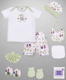 Mee Mee Clothing Gift Set Pack Of 9 - Green