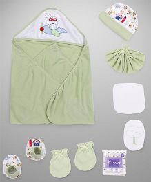 Mee Mee Combo Gift Set Pack Of 8 - Green