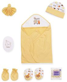 Mee Mee Combo Gift Set Pack Of 8 - Yellow