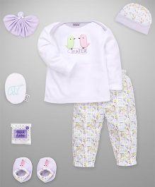 Mee Mee Clothing Gift Set Pack Of 7 - Purple