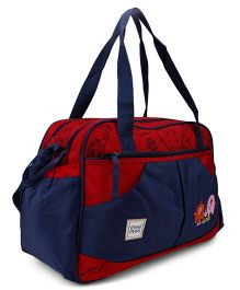 Mee Mee Mamas Bag MM 35070B - Navy Blue & Red