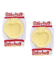 Babyhug Apple Print Baby Knee Pad