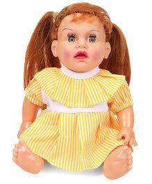 Speedage Tannu Sitting Doll - Yellow