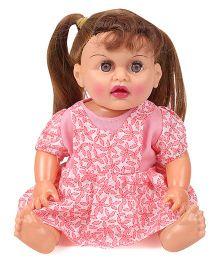 Speedage Tannu Sitting Doll - Pink