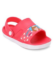 Disney Sandal With Back Strap - Pink