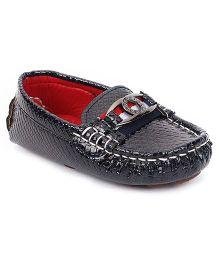 Cute Walk by Babyhug Loafer Shoes - Dark Blue