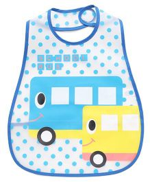 Babyhug Bib School Bus Print (Color May Vary)