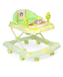 Musical Baby Walker Bear Design - Green