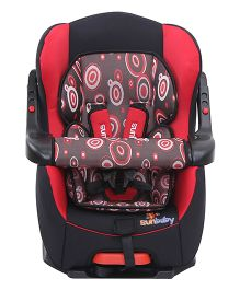 Sun Baby Car Seat - Red