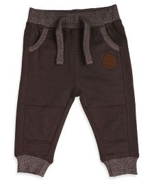 Mothercare Full Length Track Pants With Drawstring - Brown