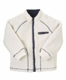 Mothercare Full Sleeves Jacket - Off White