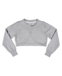 Mothercare Long Sleeves Shrug - Grey