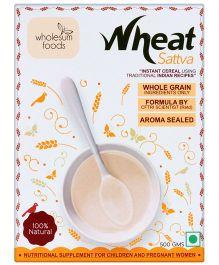 Wholesum Foods Wheat Satva - 500 gm