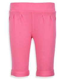Mothercare Solid Jeggings - Pink