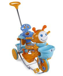 Mee Mee Tricycle with Push Handle and Rocker - Blue