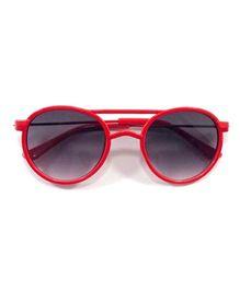 Kidofash Aviator Style Sunglasses - Red