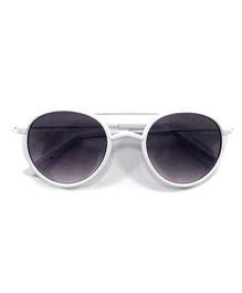 Kidofash Aviator Style Sunglasses - White