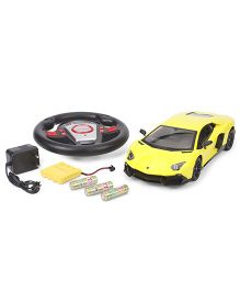 Dash Lamborghini Aventador LP720 4 RC Car - Lime Yellow