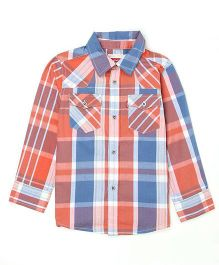 Levi's Full Sleeves Checks Shirt - Multi Color