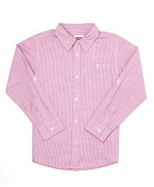 Levi's Full Sleeves Striped Shirt - Pink