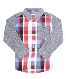Levi's Full Sleeves Plain And Checks Shirt - Multicolor
