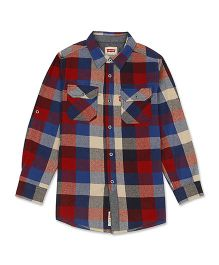 Levi's Full Sleeves Checks Shirt - Multicolor