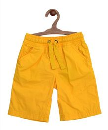 Mothercare Shorts With Drawstrings - Yellow