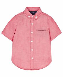 Mothercare Half Sleeves Shirt - Pink