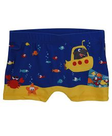 Mothercare Swim Shorts Underwater Print - Blue