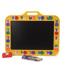 Ratnas 2 In 1 Hide N Seek Slate - Yellow