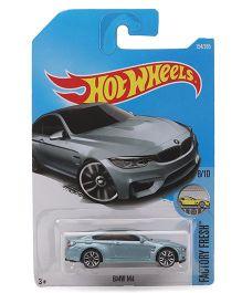 Hot Wheels Factory Fresh BMW M4 Toy Car - Light  Blue