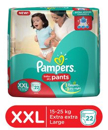 Pampers Pant Style Diapers Extra Extra Large - 22 Pieces