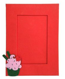 Two For Joy Cupcake Photoframe - Red
