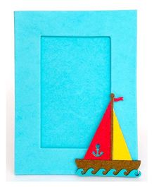 Two For Joy Nautical Photoframe - Blue