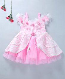 Enfance Elegant Party Wear Dress - Pink